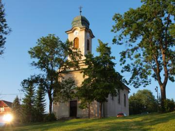 Kostel sv. Václava, autor: archiv Město Harrachov