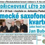 Zámecké saxofonové kvarteto, autor: Obec Bedřichov