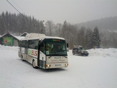 Skibusy a vlakové spoje na zimu 2016–2017