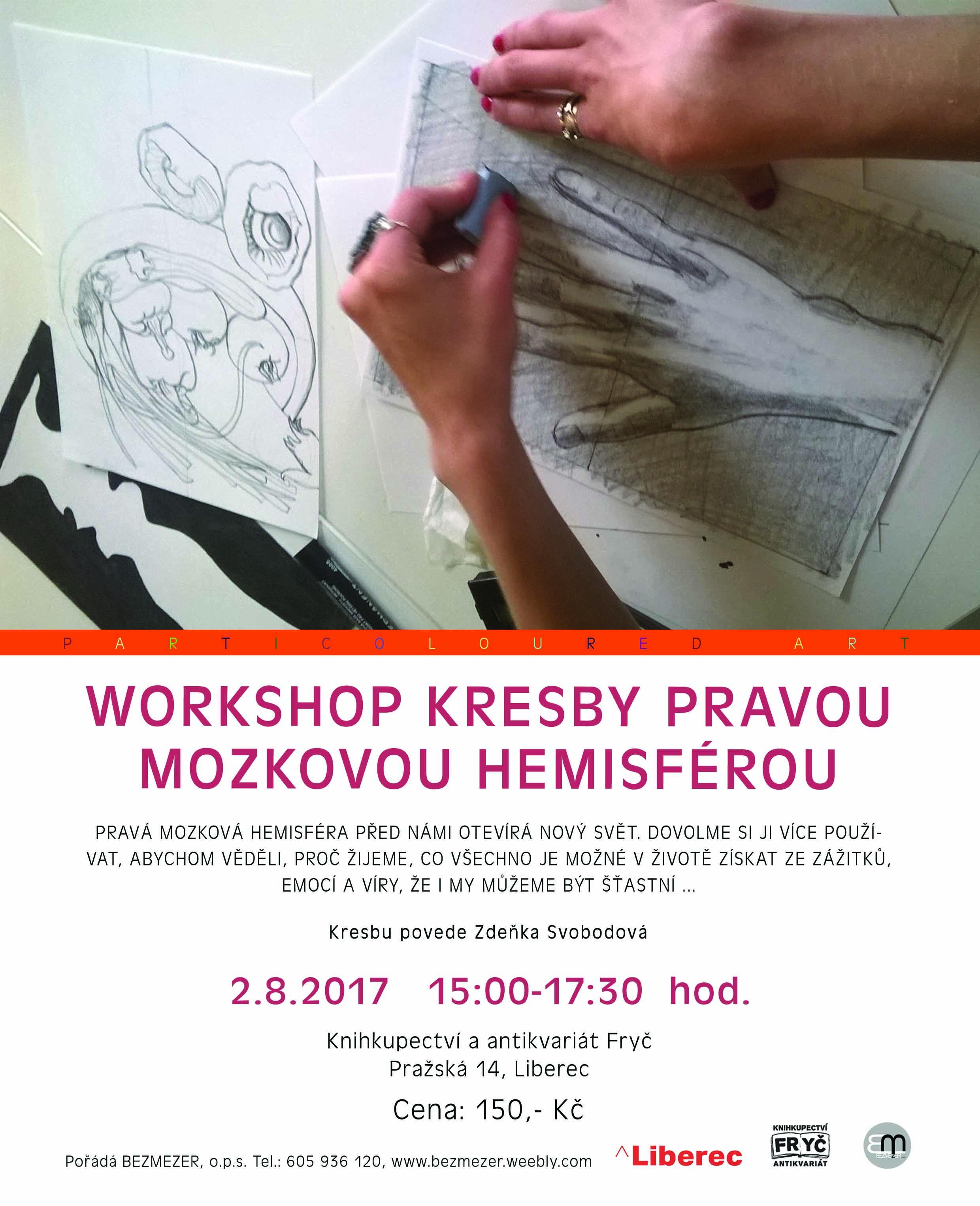 Workshop Kresby Pravou Mozkovou Hemisferou Mezi Knihami